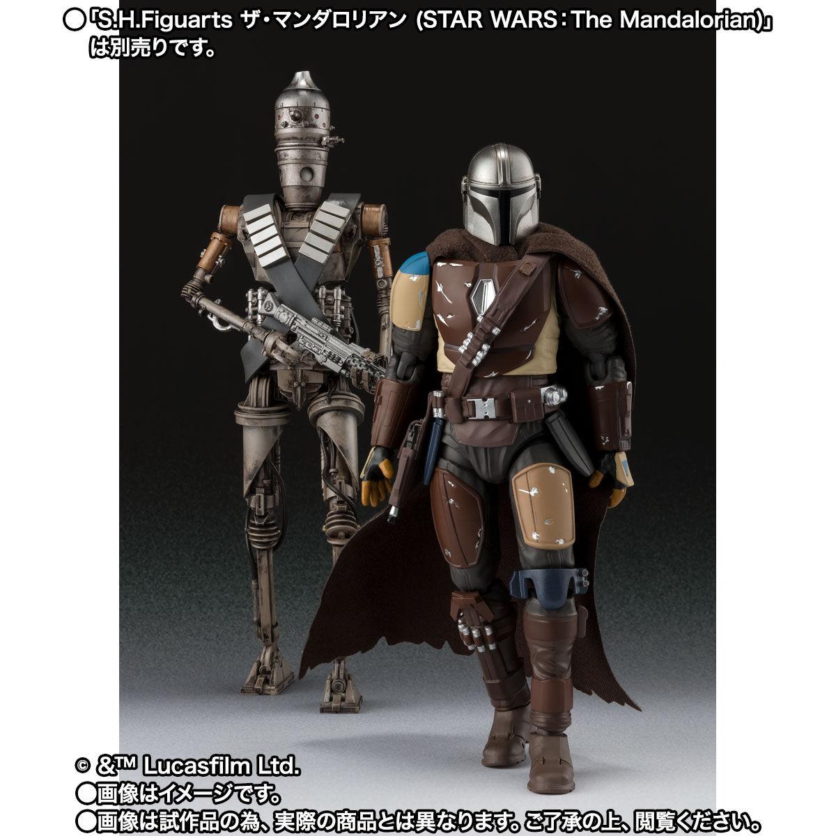 【限定販売】S.H.Figuarts『IG-11(STAR WARS:The Mandalorian)』マンダロリアン 可動フィギュア-008