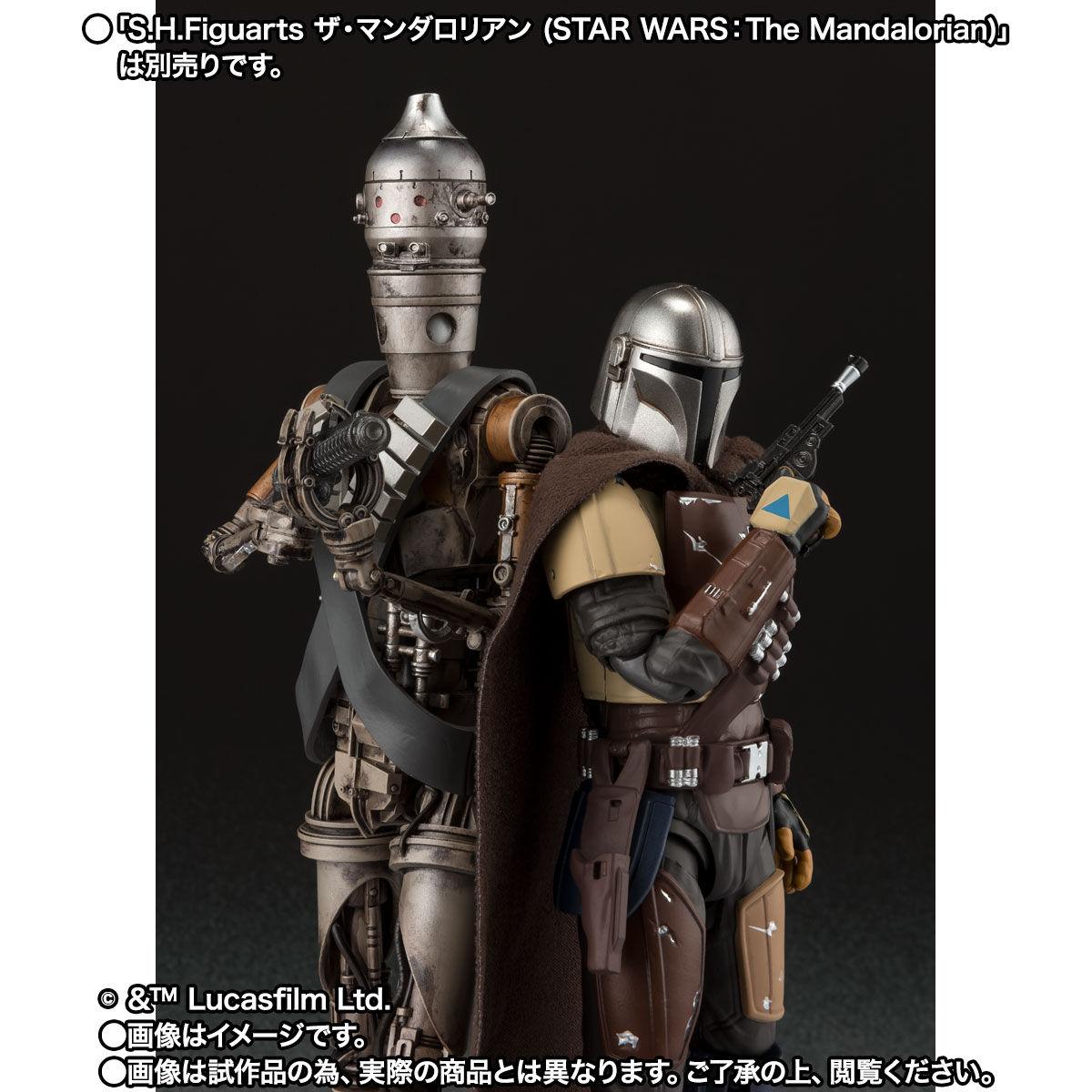 【限定販売】S.H.Figuarts『IG-11(STAR WARS:The Mandalorian)』マンダロリアン 可動フィギュア-009