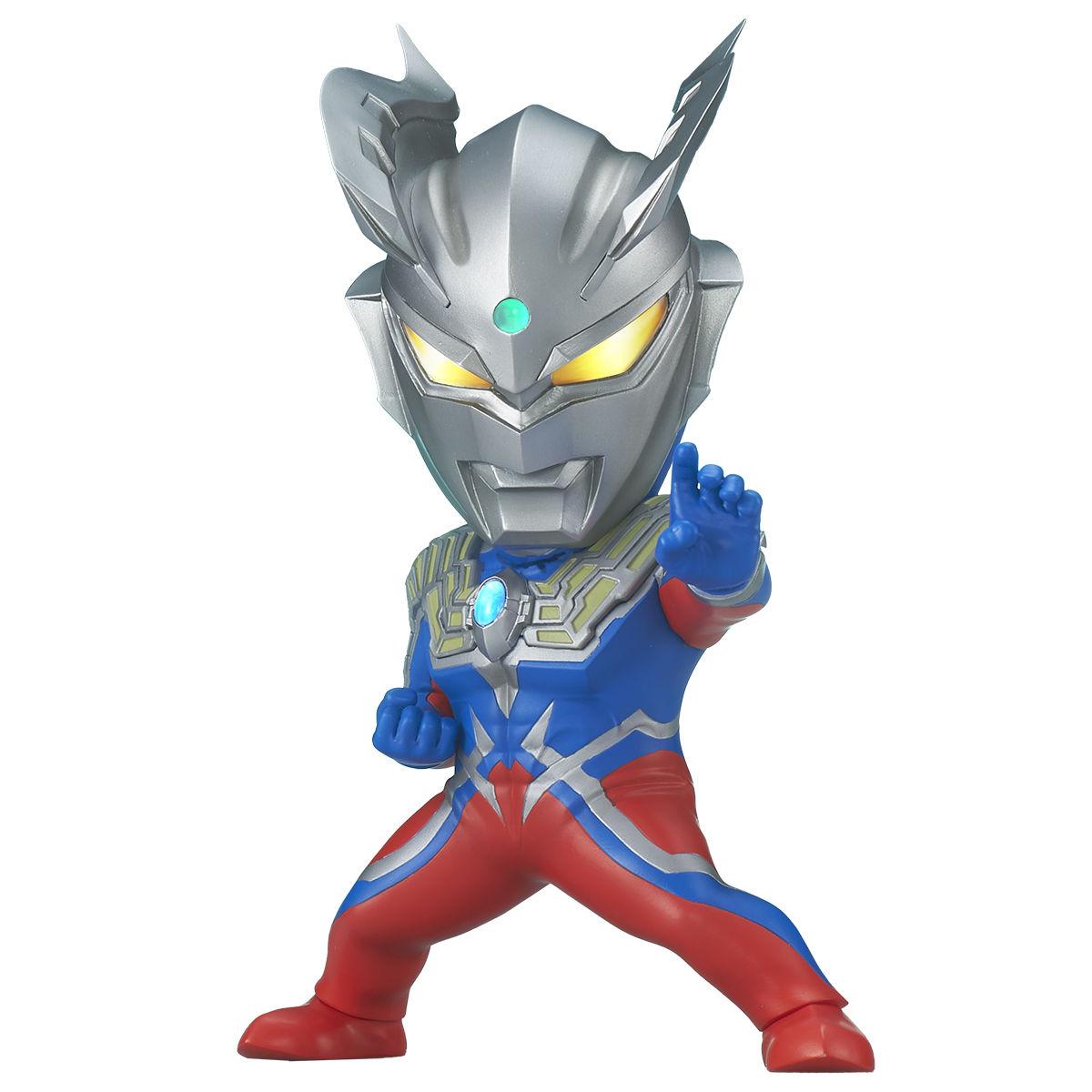 【限定販売】デフォリアル『ウルトラマンゼロ』大怪獣バトル ウルトラ銀河伝説 デフォルメフィギュア-001