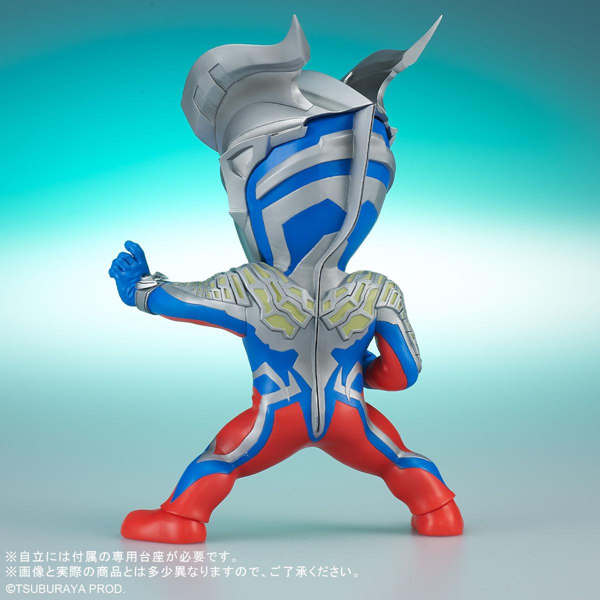 【限定販売】デフォリアル『ウルトラマンゼロ』大怪獣バトル ウルトラ銀河伝説 デフォルメフィギュア-004