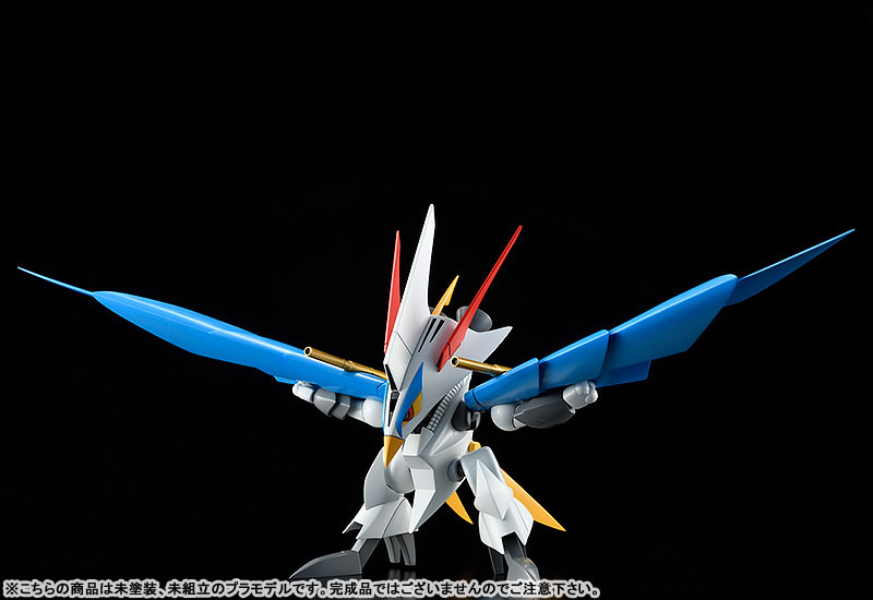 PLAMAX MS-06『空王丸』魔神英雄伝ワタル プラモデル-005