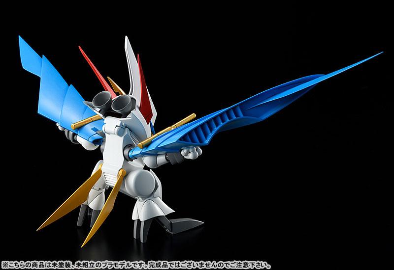 PLAMAX MS-06『空王丸』魔神英雄伝ワタル プラモデル-007