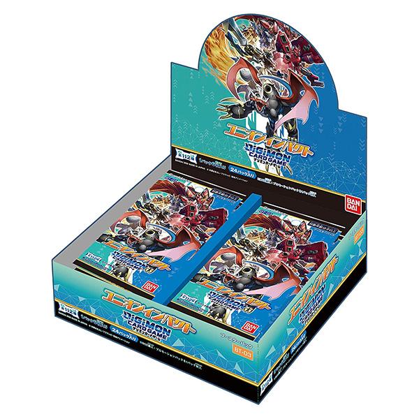 デジモンカードゲーム BT-03『ブースター ユニオンインパクト』24パック入りBOX