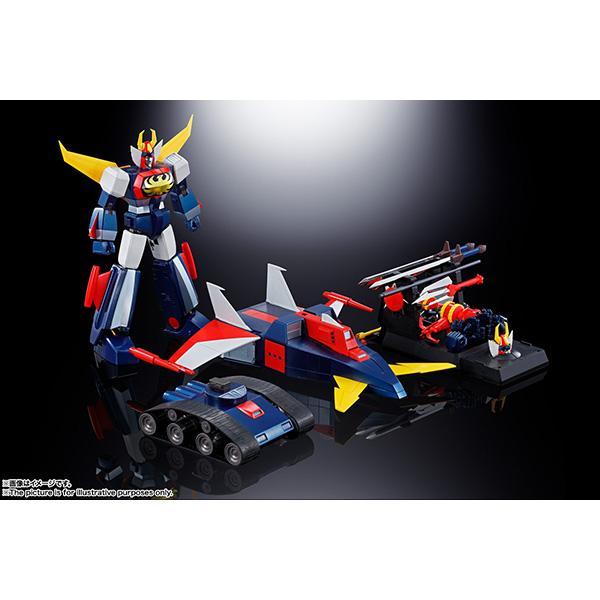超合金魂 GX-66R『無敵ロボ トライダーG7』可動フィギュア