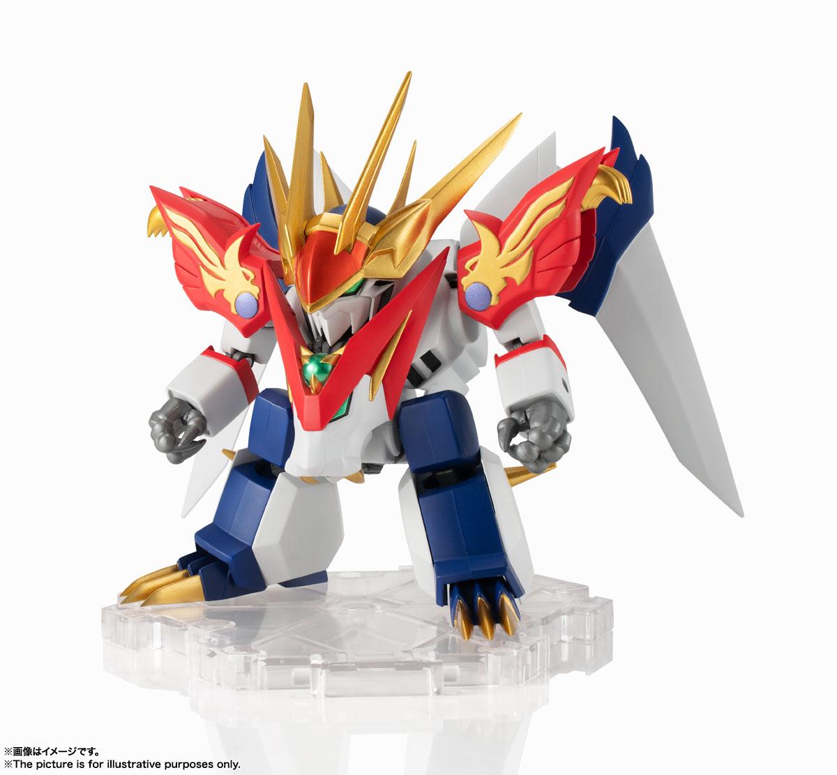 NXEDGE STYLE[MASHIN UNIT]『龍虎丸』魔神英雄伝ワタル 可動フィギュア-001