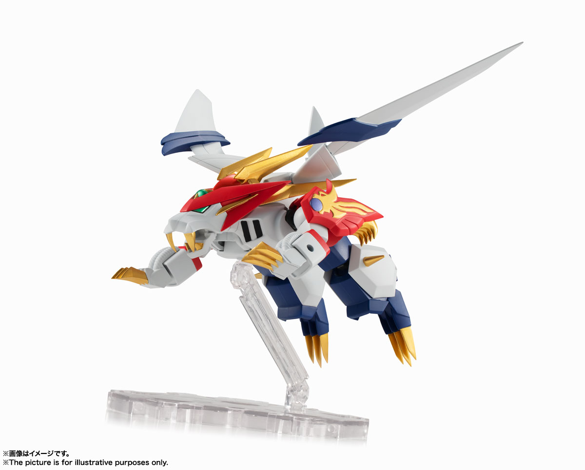 NXEDGE STYLE[MASHIN UNIT]『龍虎丸』魔神英雄伝ワタル 可動フィギュア-009