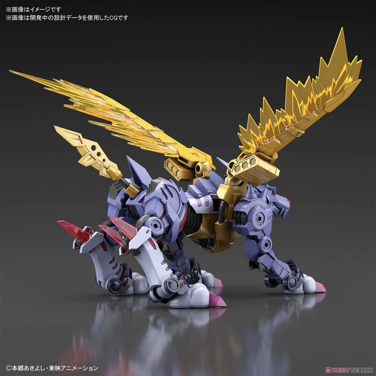 【再販】Figure-rise Standard『メタルガルルモン(AMPLIFIED)』デジモンアドベンチャー プラモデル-016