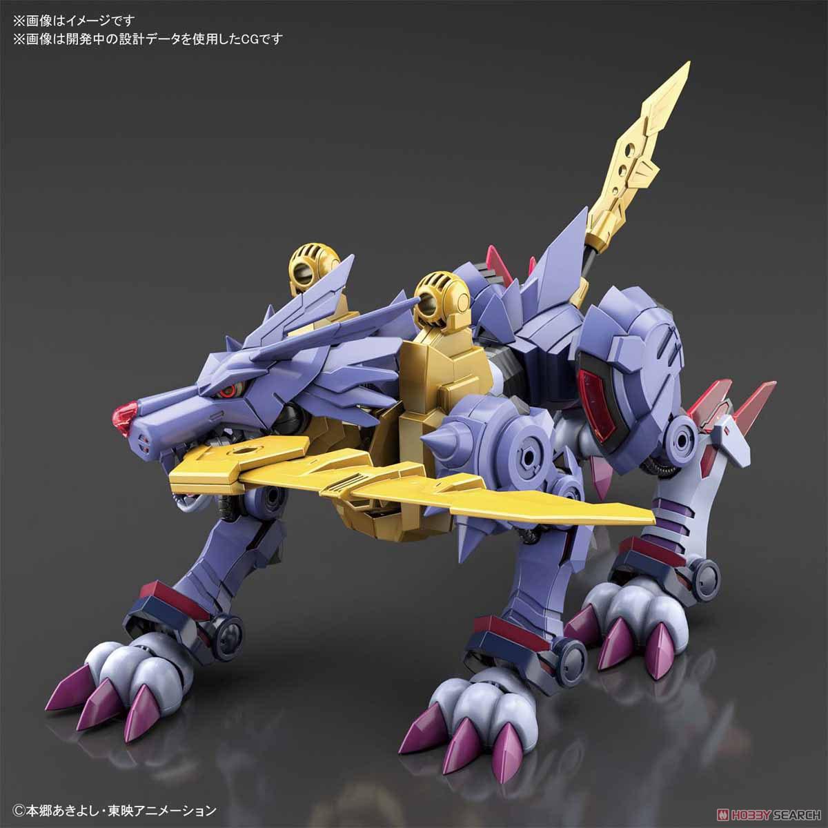 【再販】Figure-rise Standard『メタルガルルモン(AMPLIFIED)』デジモンアドベンチャー プラモデル-021