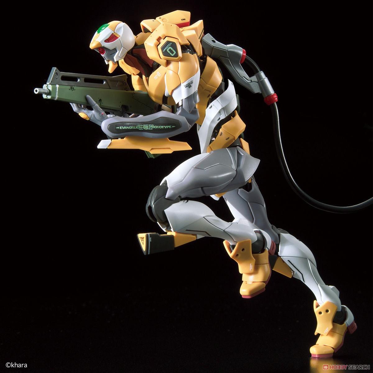 【再販】RG『汎用ヒト型決戦兵器 人造人間エヴァンゲリオン試作零号機DX 陽電子砲セット』プラモデル-003