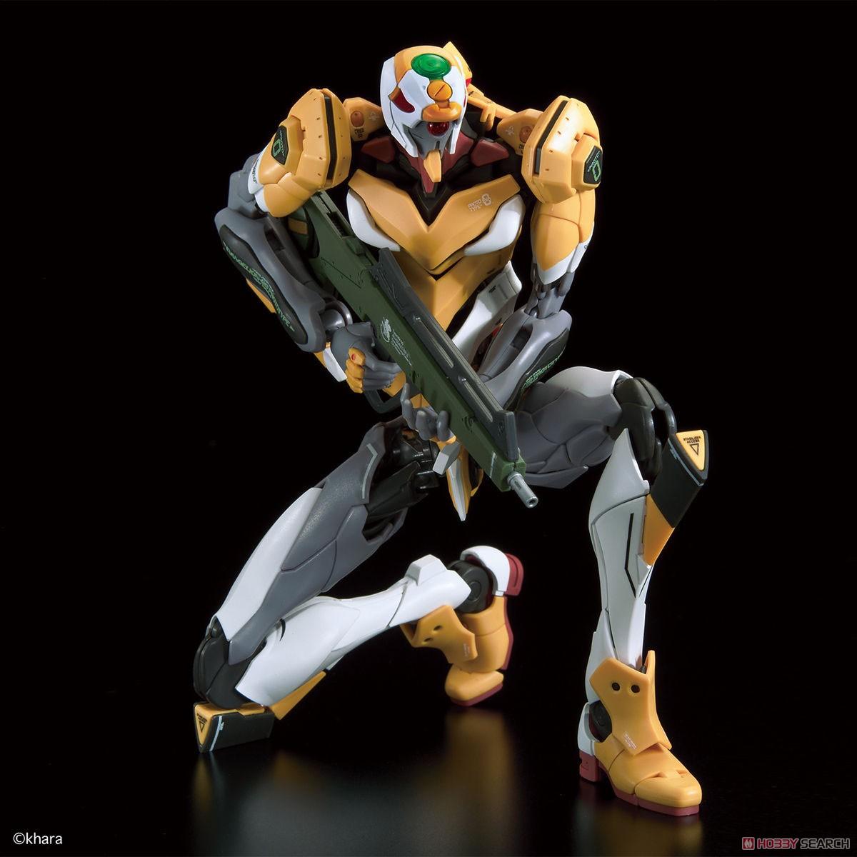 【再販】RG『汎用ヒト型決戦兵器 人造人間エヴァンゲリオン試作零号機DX 陽電子砲セット』プラモデル-005