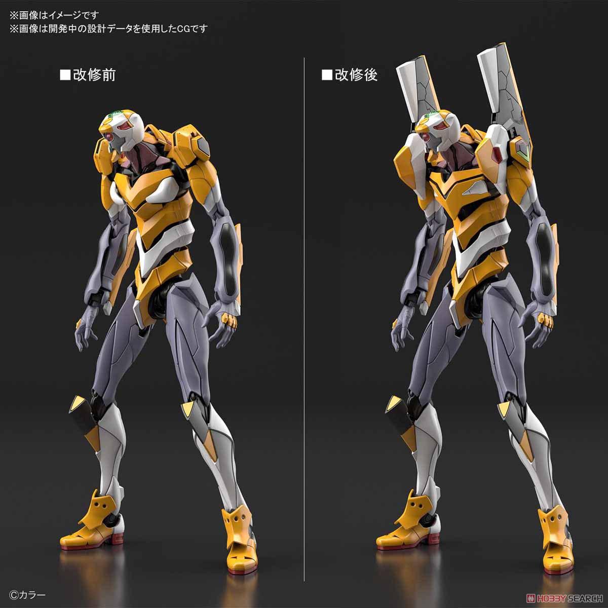 【再販】RG『汎用ヒト型決戦兵器 人造人間エヴァンゲリオン試作零号機DX 陽電子砲セット』プラモデル-014
