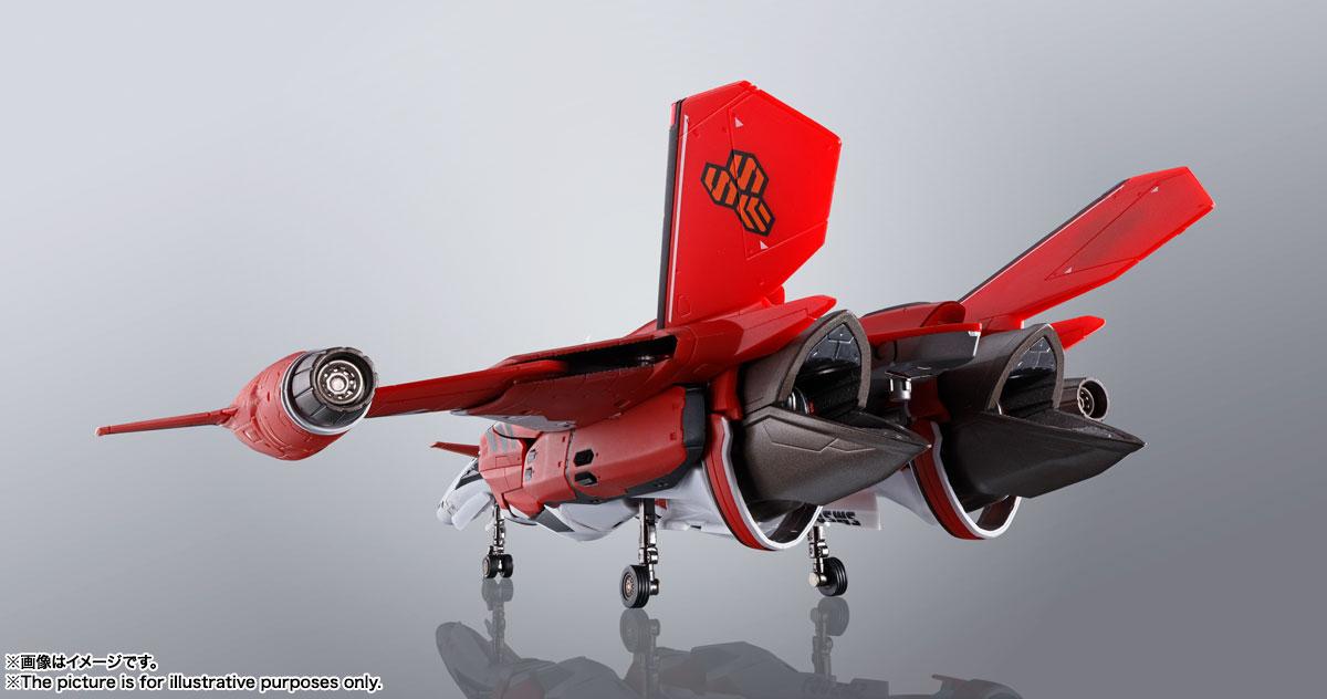 DX超合金『YF-29デュランダルバルキリー(早乙女アルト機)フルセットパック』マクロスF 可変可動フィギュア-004