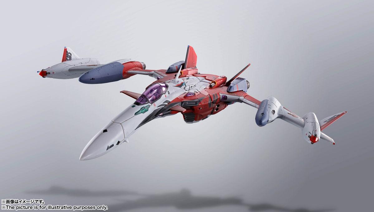 DX超合金『YF-29デュランダルバルキリー(早乙女アルト機)フルセットパック』マクロスF 可変可動フィギュア-006