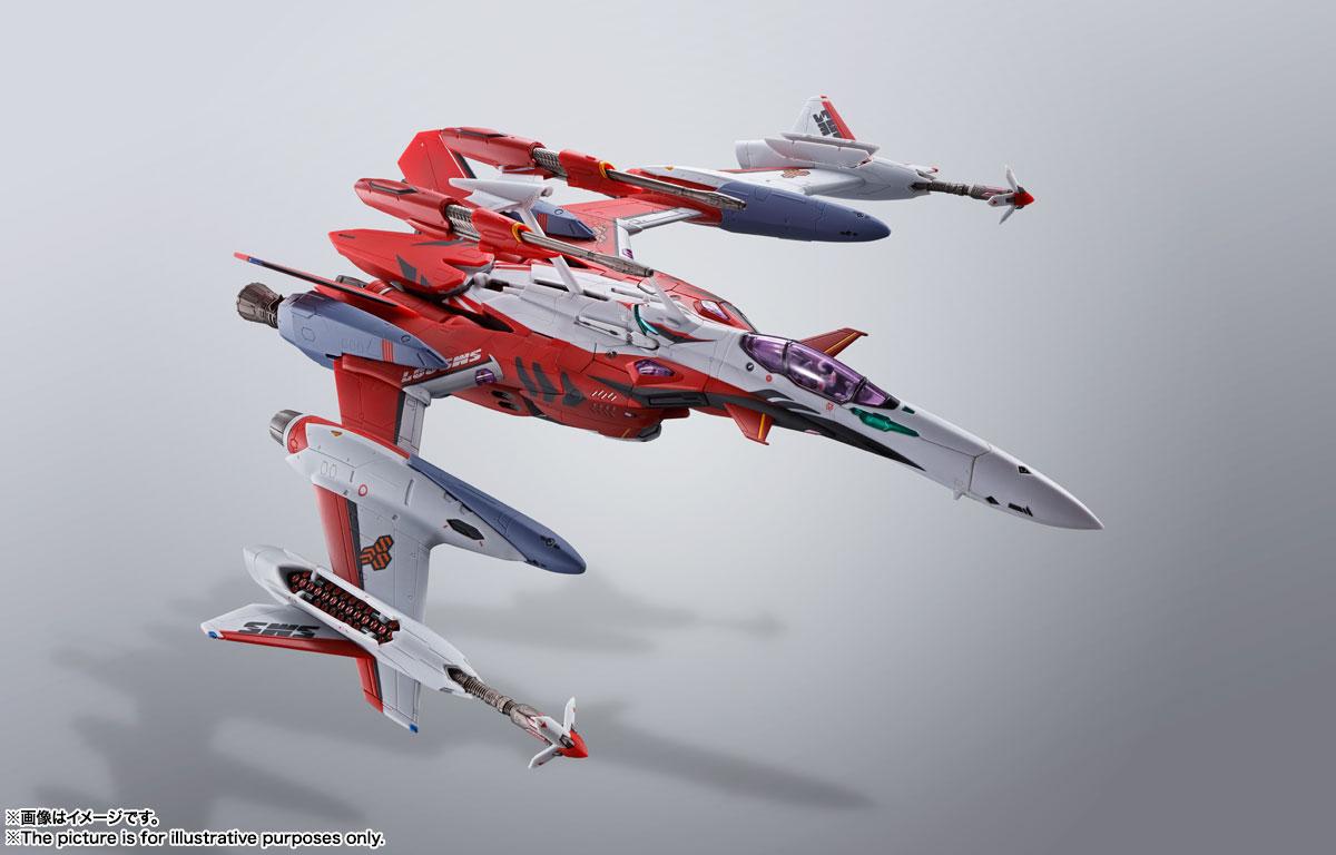 DX超合金『YF-29デュランダルバルキリー(早乙女アルト機)フルセットパック』マクロスF 可変可動フィギュア-007