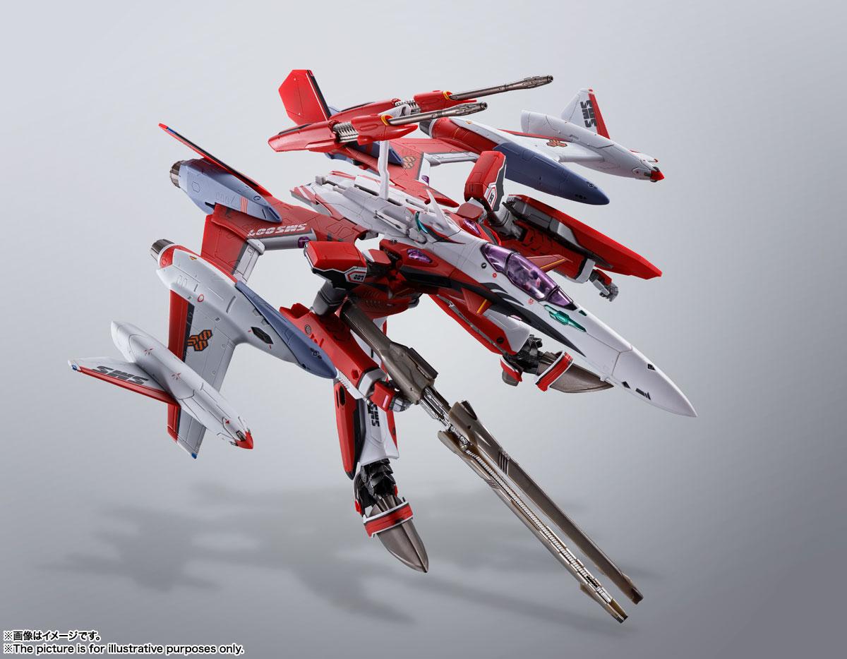 DX超合金『YF-29デュランダルバルキリー(早乙女アルト機)フルセットパック』マクロスF 可変可動フィギュア-008