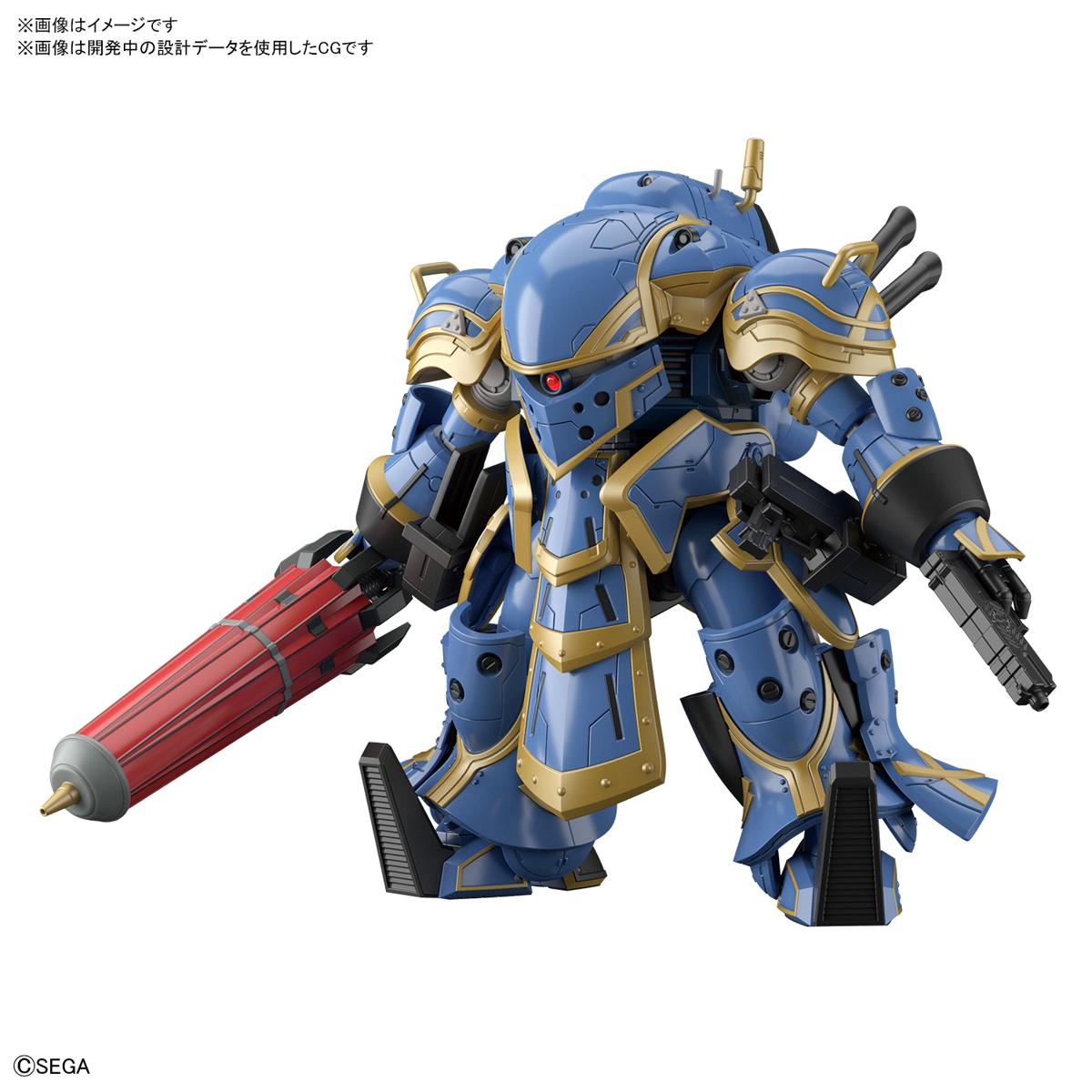 HG 1/24『霊子戦闘機・無限(アナスタシア・パルマ機)』新サクラ大戦 プラモデル-002