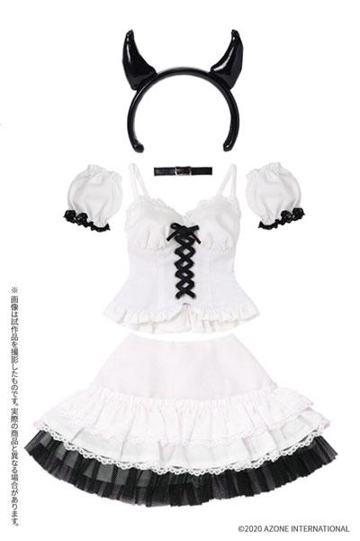 AZO2『小悪魔コスチュームsetII[ホワイト]セット』1/3 ドール服