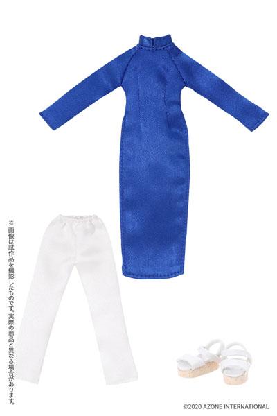 ピコニーモサイズ コスチューム『アオザイセット[ブルー]』1/12 ドール服