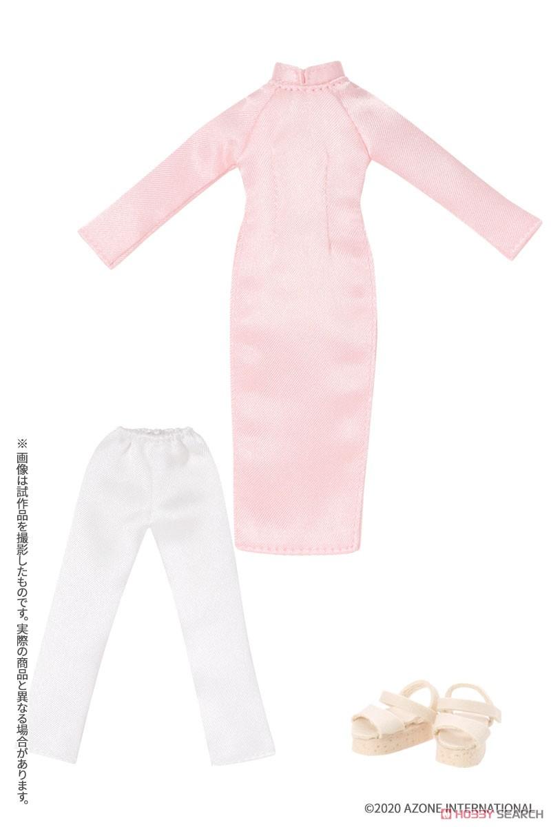 ピコニーモサイズ コスチューム『アオザイセット[ブルー]』1/12 ドール服-003