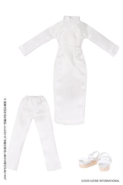 ピコニーモサイズ コスチューム『アオザイセット[ホワイト]』1/12 ドール服