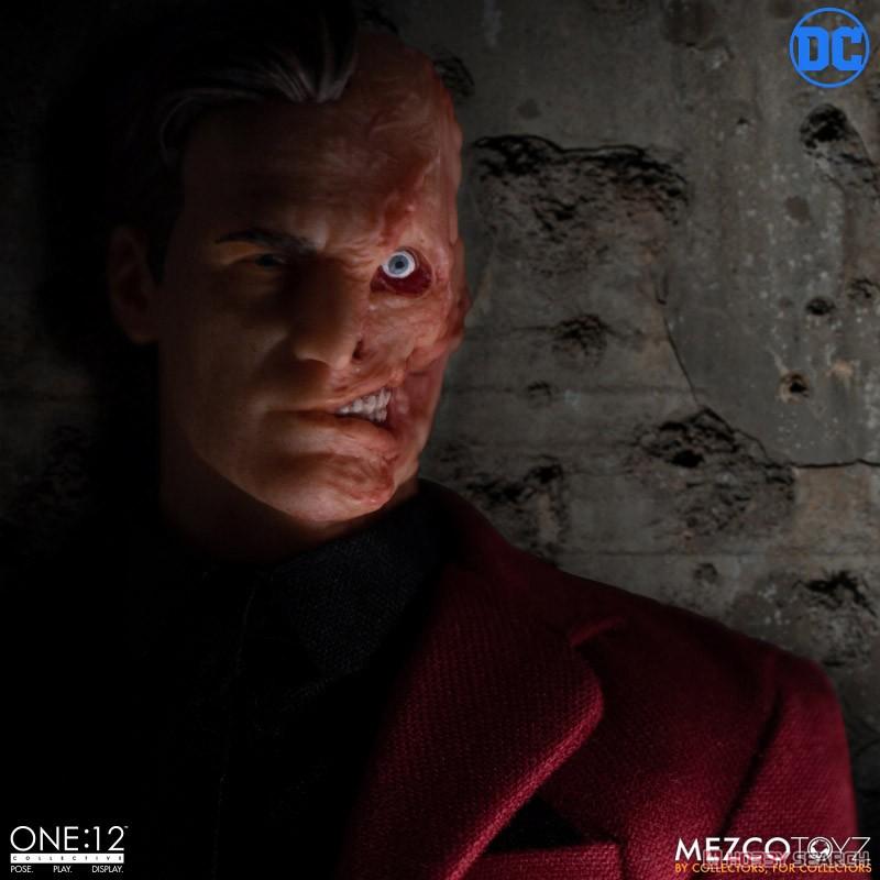 ワン12コレクティブ『トゥーフェイス』DCコミックス 1/12 アクションフィギュア-008