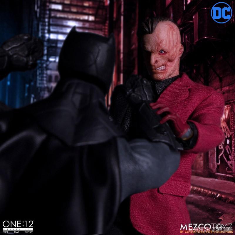 ワン12コレクティブ『トゥーフェイス』DCコミックス 1/12 アクションフィギュア-013