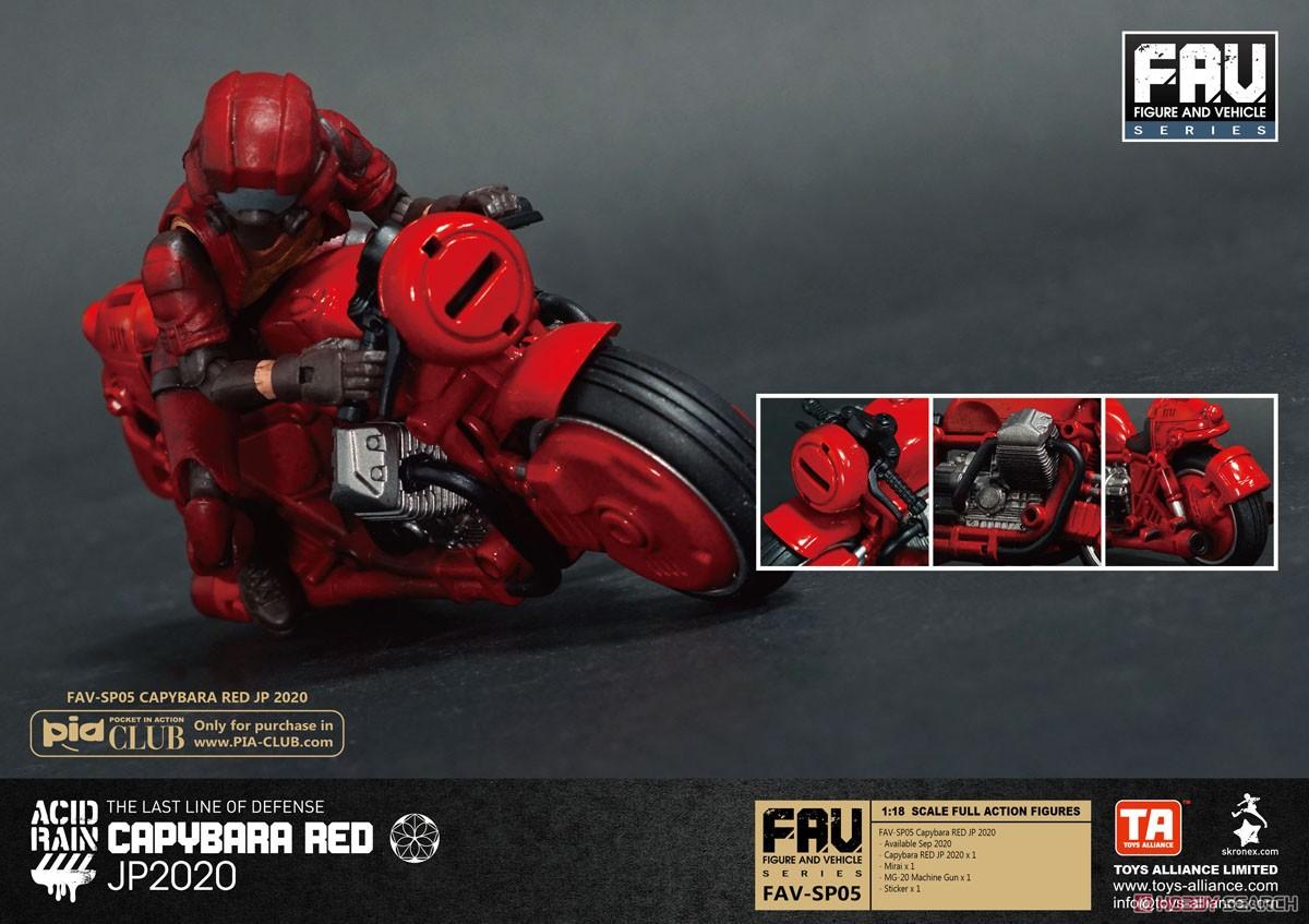 アシッドレイン『FAV-SP05 カピバラRED JP 2020』1/18 可動フィギュア-002