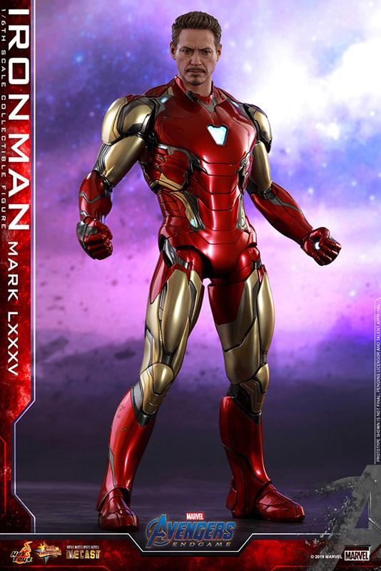 【再入荷】ムービー・マスターピース DIECAST『アイアンマン マーク85』アベンジャーズ/エンドゲーム 1/6 可動フィギュア-001