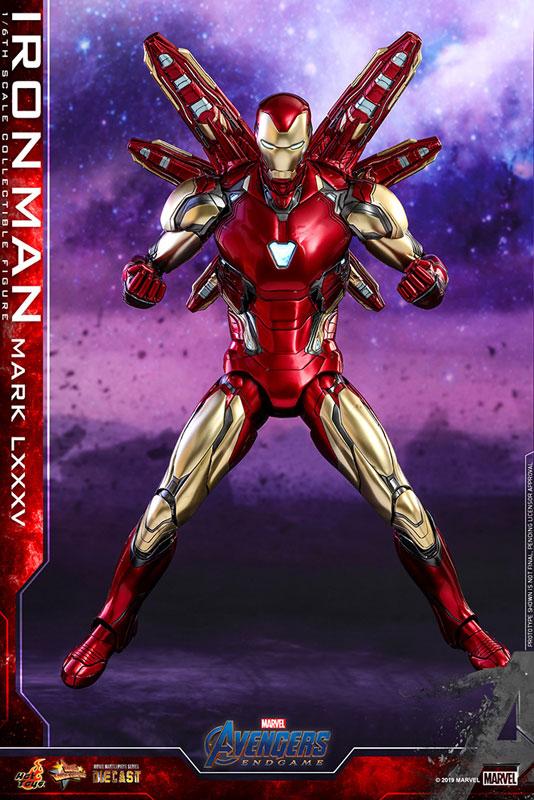 【再入荷】ムービー・マスターピース DIECAST『アイアンマン マーク85』アベンジャーズ/エンドゲーム 1/6 可動フィギュア-007