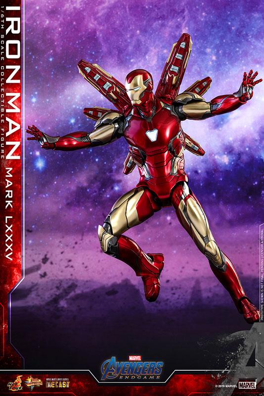 【再入荷】ムービー・マスターピース DIECAST『アイアンマン マーク85』アベンジャーズ/エンドゲーム 1/6 可動フィギュア-008