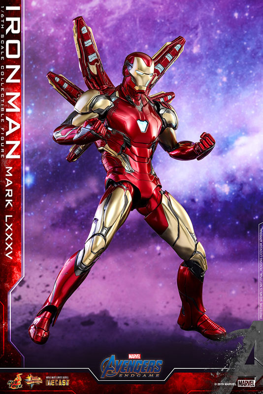 ムービー・マスターピース DIECAST『アイアンマン マーク85』1/6 アベンジャーズ/エンドゲーム 可動フィギュア-010