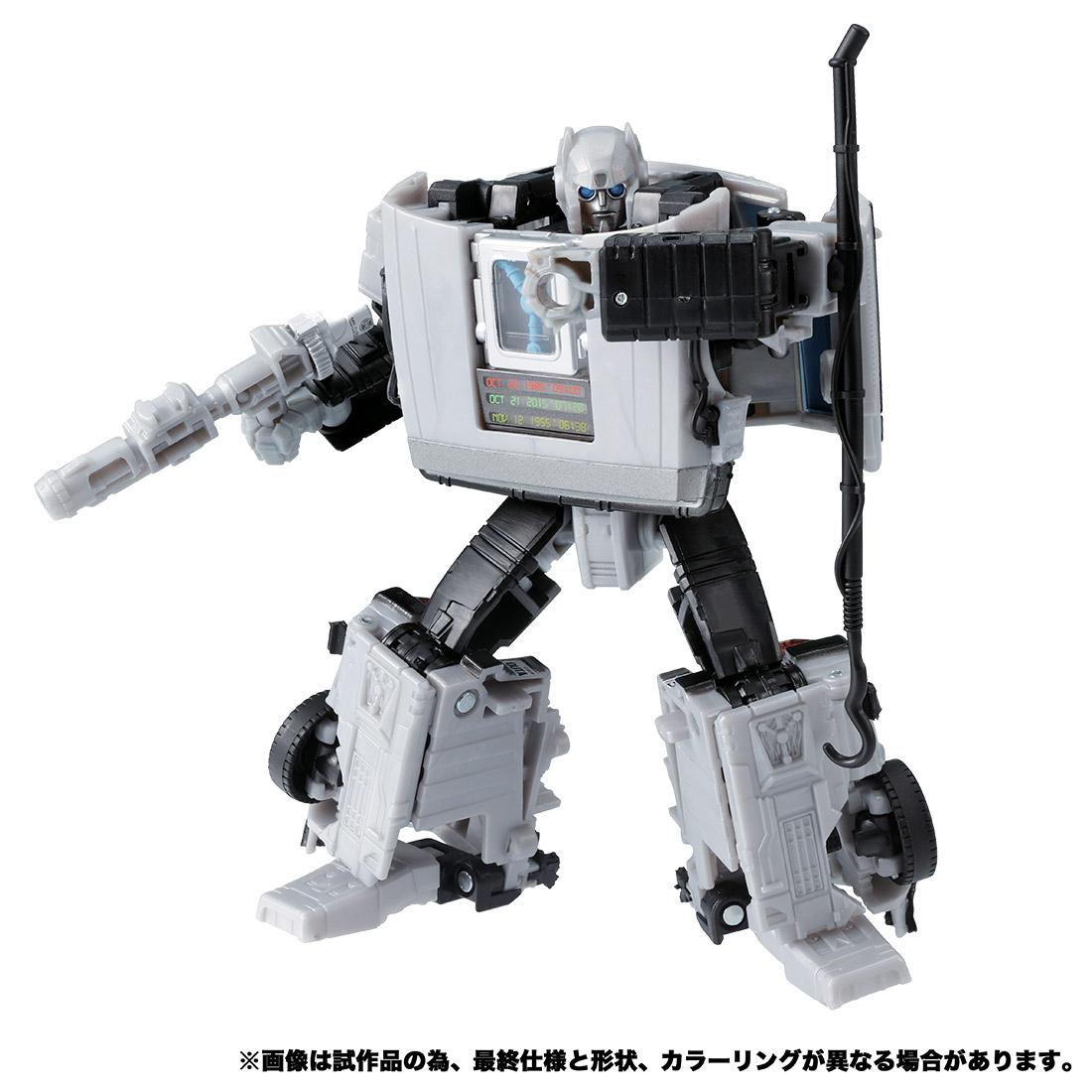 バック・トゥ・ザ・フューチャー35周年記念コラボ商品『トランスフォーマー GIGAWATT(ギガワット)』可変可動フィギュア-001