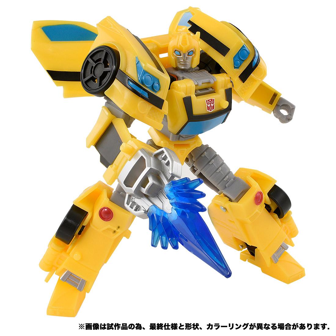 【限定販売】サイバーバース アクションマスター04『バンブルビー』トランスフォーマー 可変可動フィギュア-001