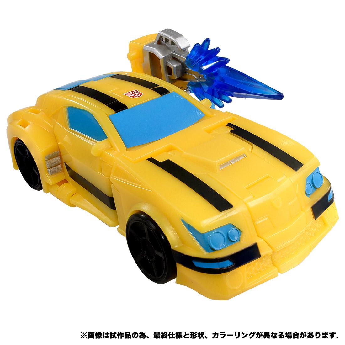 【限定販売】サイバーバース アクションマスター04『バンブルビー』トランスフォーマー 可変可動フィギュア-002