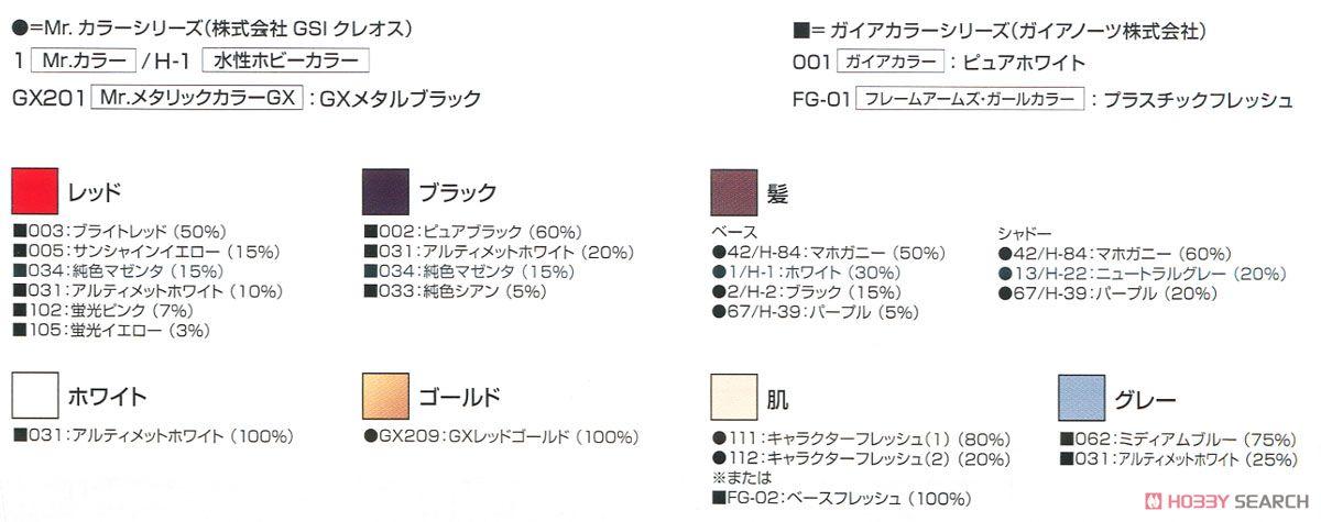 【再販】メガミデバイス『朱羅 忍者』1/1 プラモデル-026