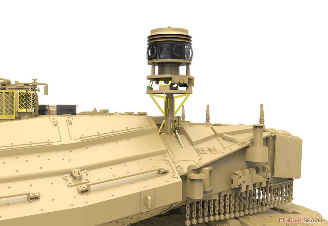 1/35『イスラエル主力戦車 メルカバMk.4/4 LIC Nochri-Kal 地雷処理システム搭載』プラモデル-004