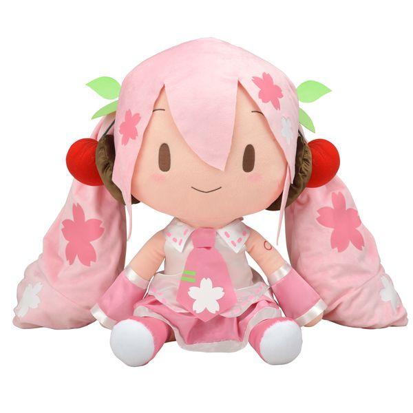 【再販】初音ミク『桜ミク どでかジャンボふわふわぬいぐるみ』ぬいぐるみ