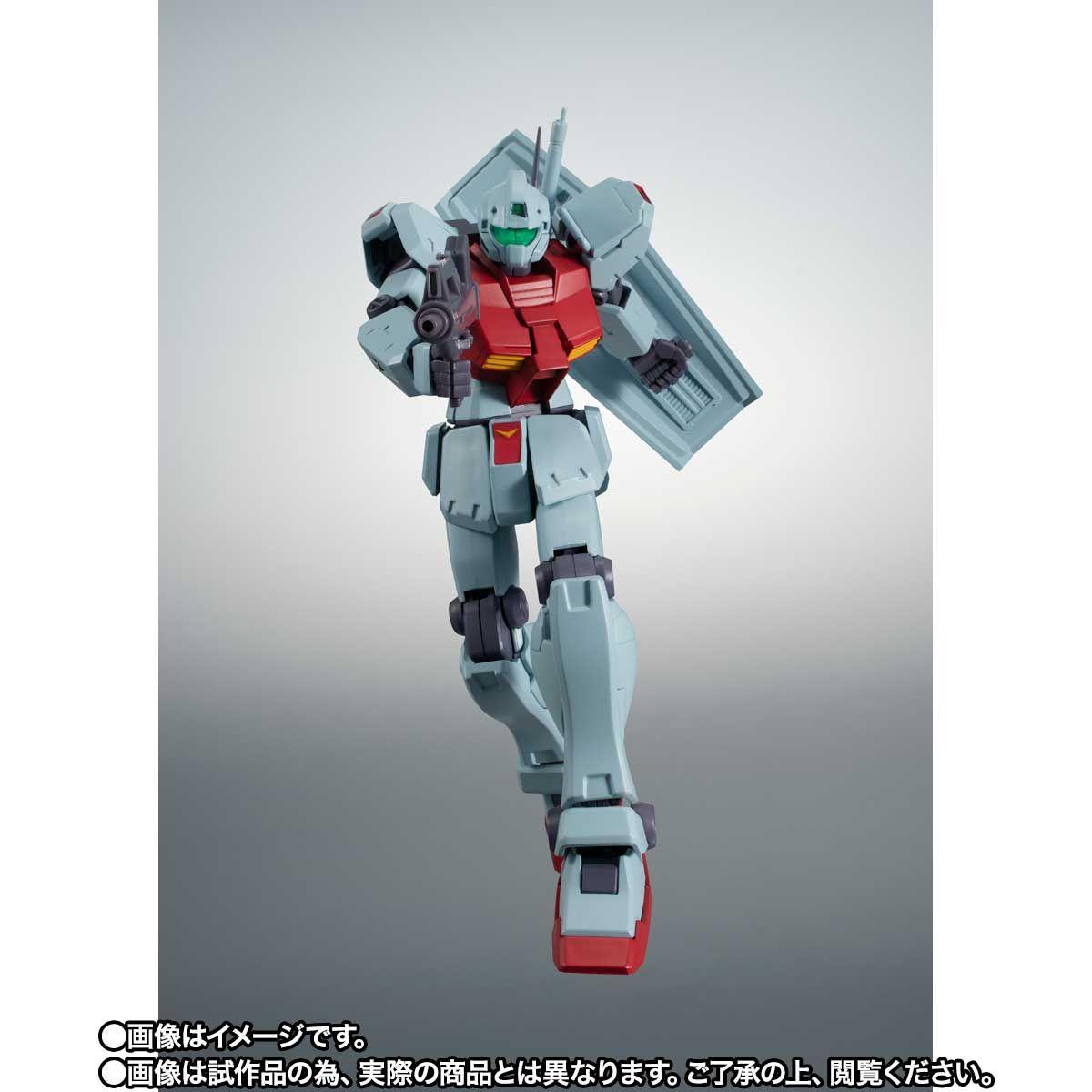 【限定販売】ROBOT魂〈SIDE MS〉『RGM-79C ジム改 宇宙戦仕様 ver. A.N.I.M.E.』ガンダム0083 可動フィギュア-007