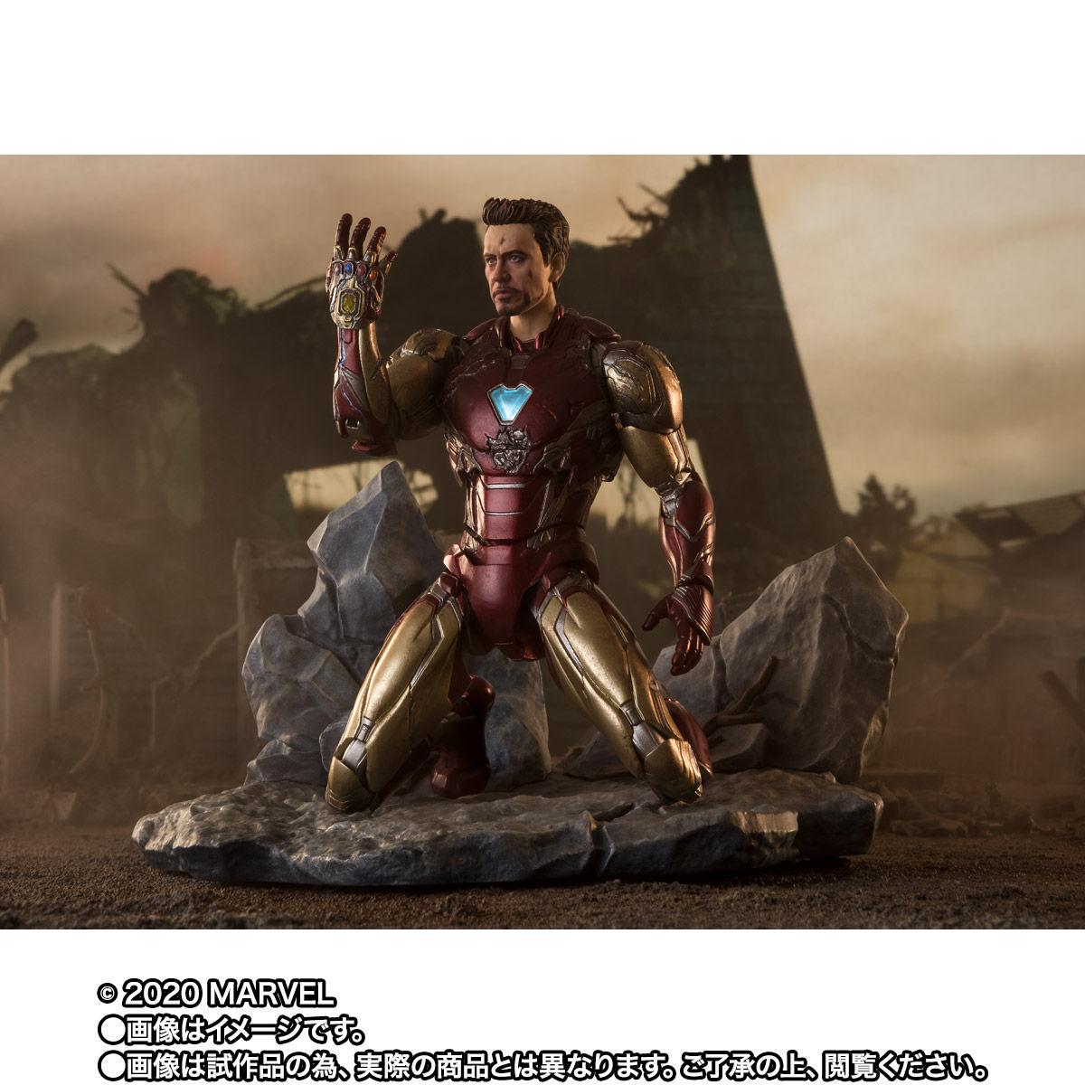 【限定販売】S.H.Figuarts『アイアンマン マーク85 -《I AM IRON MAN》EDITION-』アベンジャーズ/エンドゲーム 可動フィギュア-003