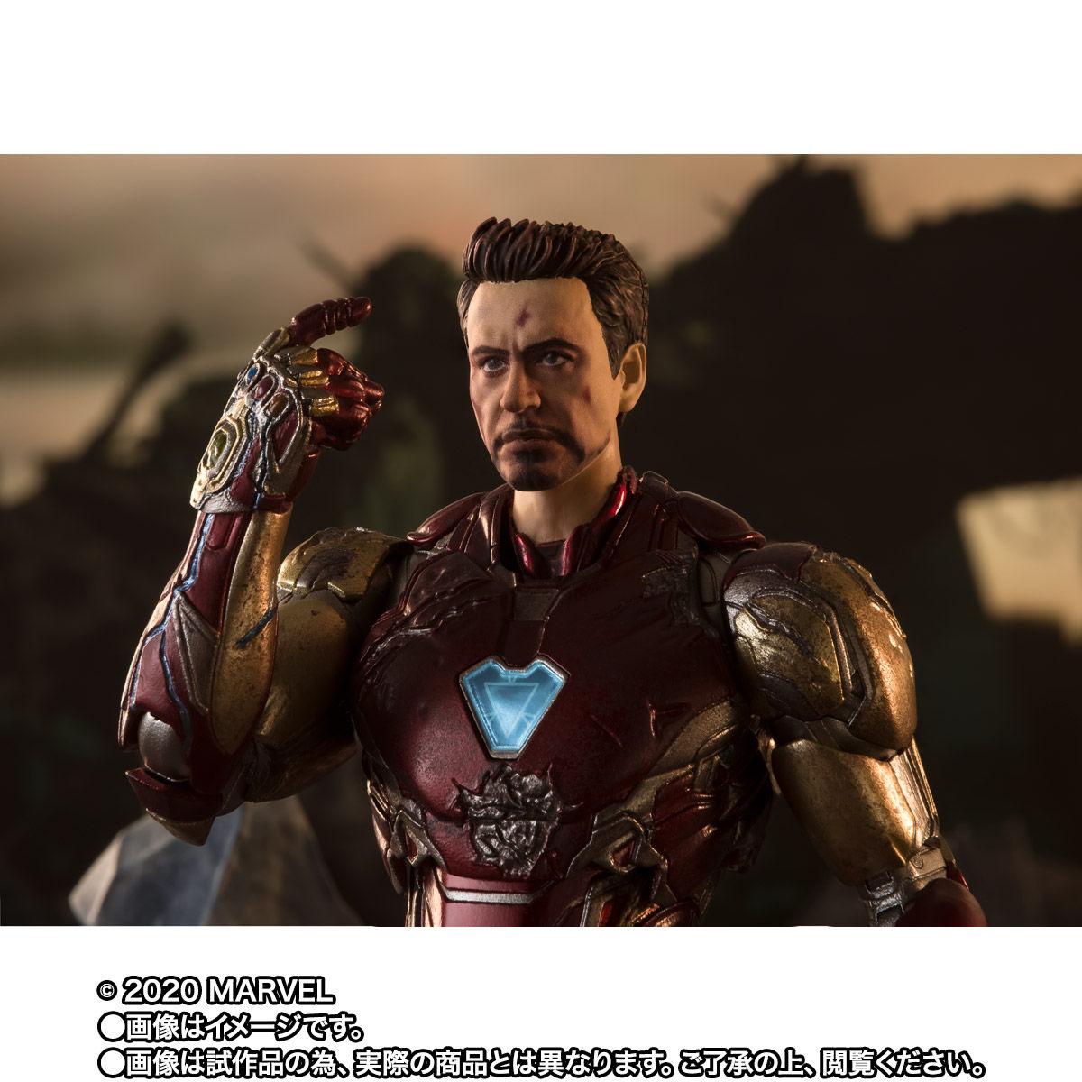 【限定販売】S.H.Figuarts『アイアンマン マーク85 -《I AM IRON MAN》EDITION-』アベンジャーズ/エンドゲーム 可動フィギュア-004