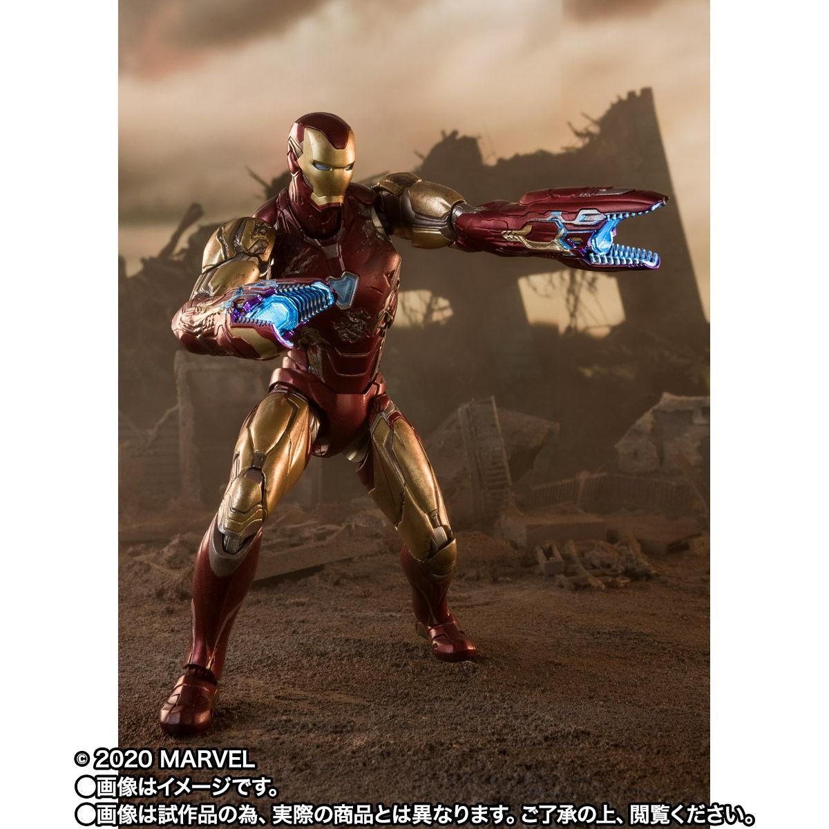 【限定販売】S.H.Figuarts『アイアンマン マーク85 -《I AM IRON MAN》EDITION-』アベンジャーズ/エンドゲーム 可動フィギュア-006