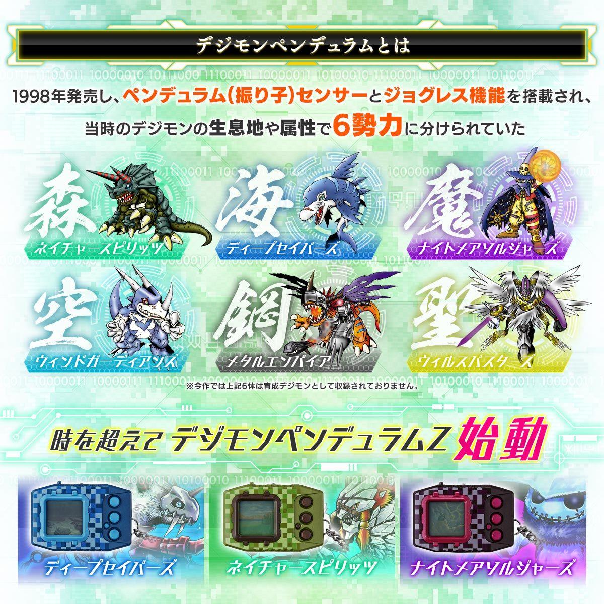 【限定販売】デジタルモンスター『デジモンペンデュラムZ』携帯型液晶育成ゲーム-002