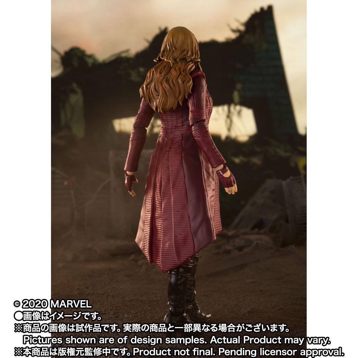 【限定販売】S.H.Figuarts『スカーレット・ウィッチ』アベンジャーズ/エンドゲーム 可動フィギュア-004