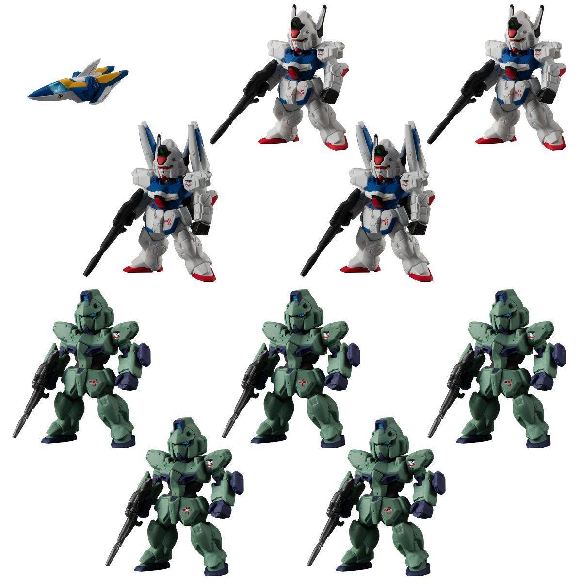 【限定販売】【食玩】FW GUNDAM CONVERGE:CORE『機動戦士Vガンダム シュラク隊セット』デフォルメフィギュア-001