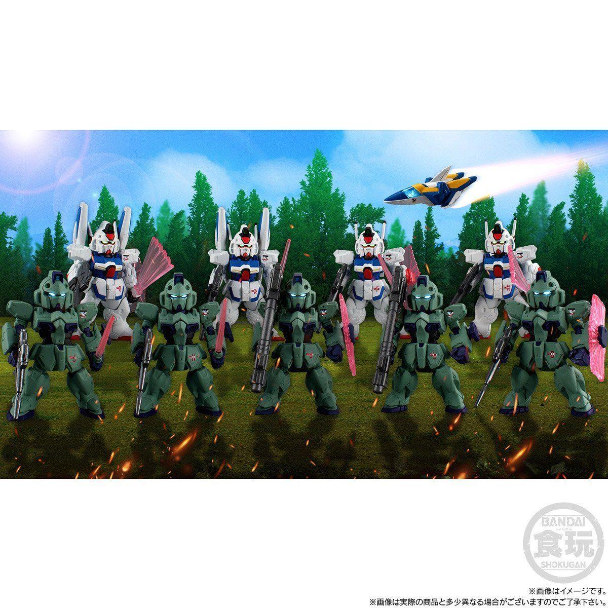 【限定販売】【食玩】FW GUNDAM CONVERGE:CORE『機動戦士Vガンダム シュラク隊セット』デフォルメフィギュア-010