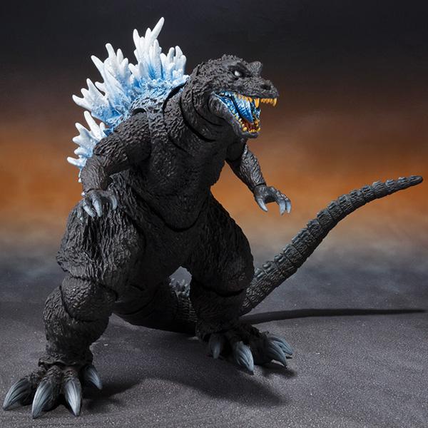【限定販売】S.H.MonsterArts『ゴジラ(2001)放射熱線Ver.』大怪獣総攻撃 可動フィギュア