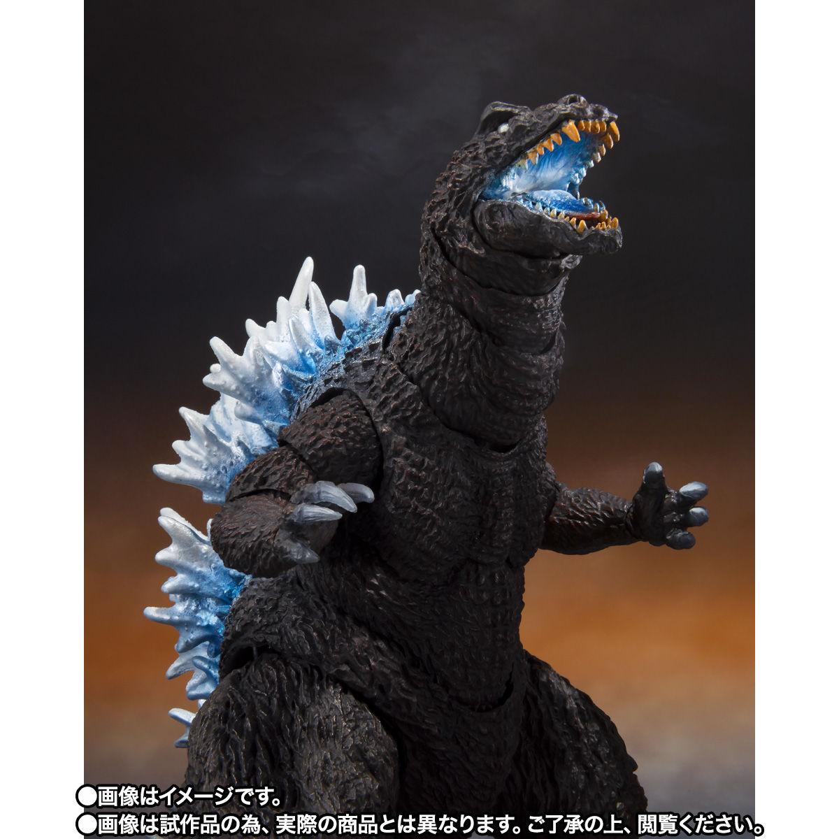 【限定販売】S.H.MonsterArts『ゴジラ(2001)放射熱線Ver.』大怪獣総攻撃 可動フィギュア-002