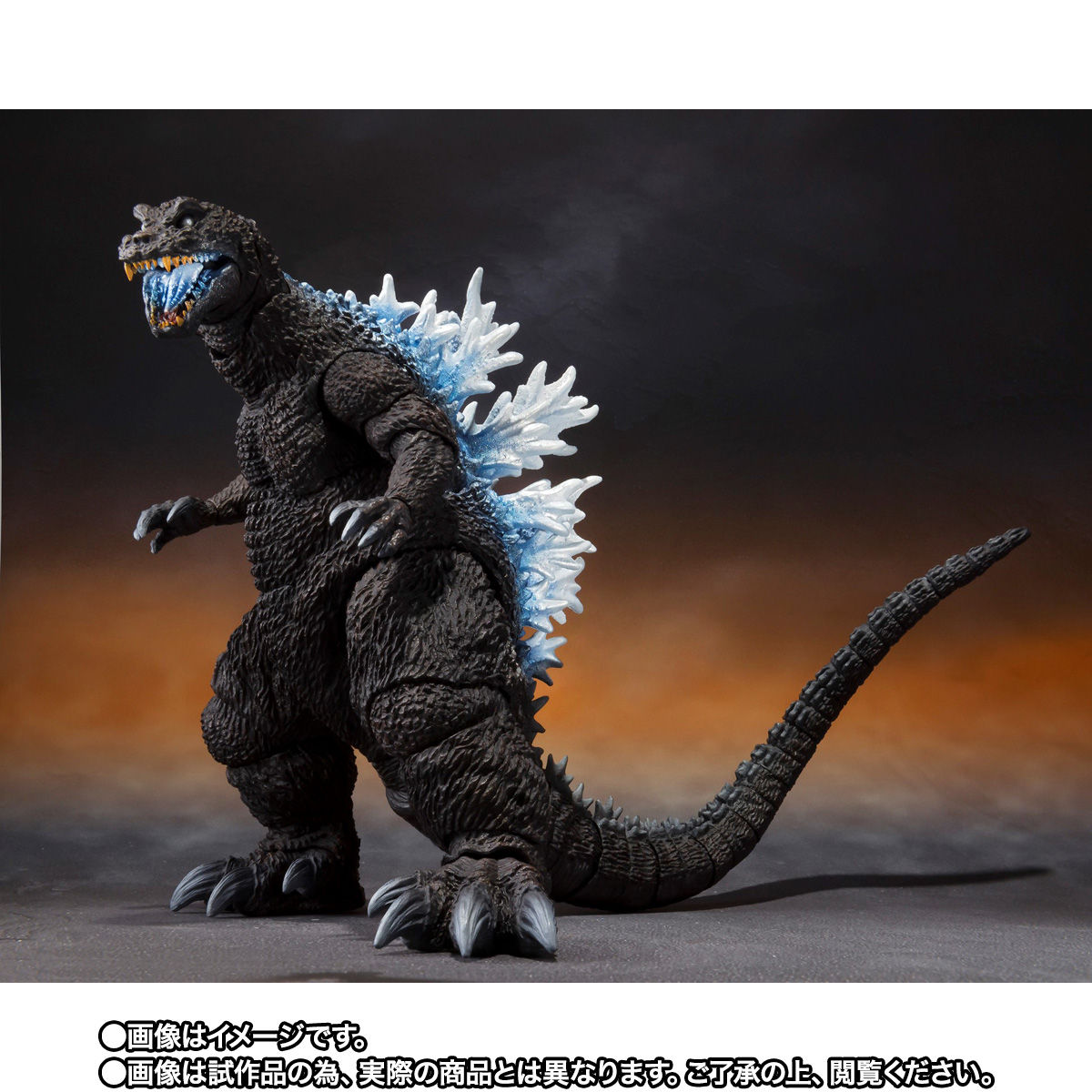 【限定販売】S.H.MonsterArts『ゴジラ(2001)放射熱線Ver.』大怪獣総攻撃 可動フィギュア-004