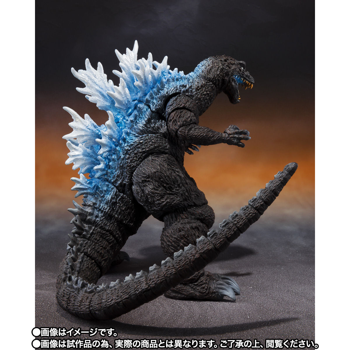【限定販売】S.H.MonsterArts『ゴジラ(2001)放射熱線Ver.』大怪獣総攻撃 可動フィギュア-005