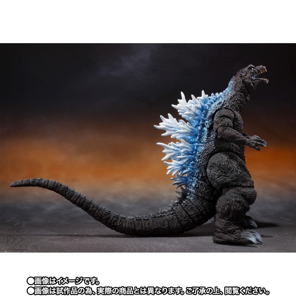 【限定販売】S.H.MonsterArts『ゴジラ(2001)放射熱線Ver.』大怪獣総攻撃 可動フィギュア-006